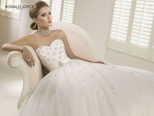 Ronald Joyce bridal gown