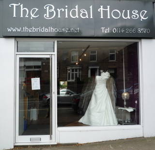 Bridal House shop front